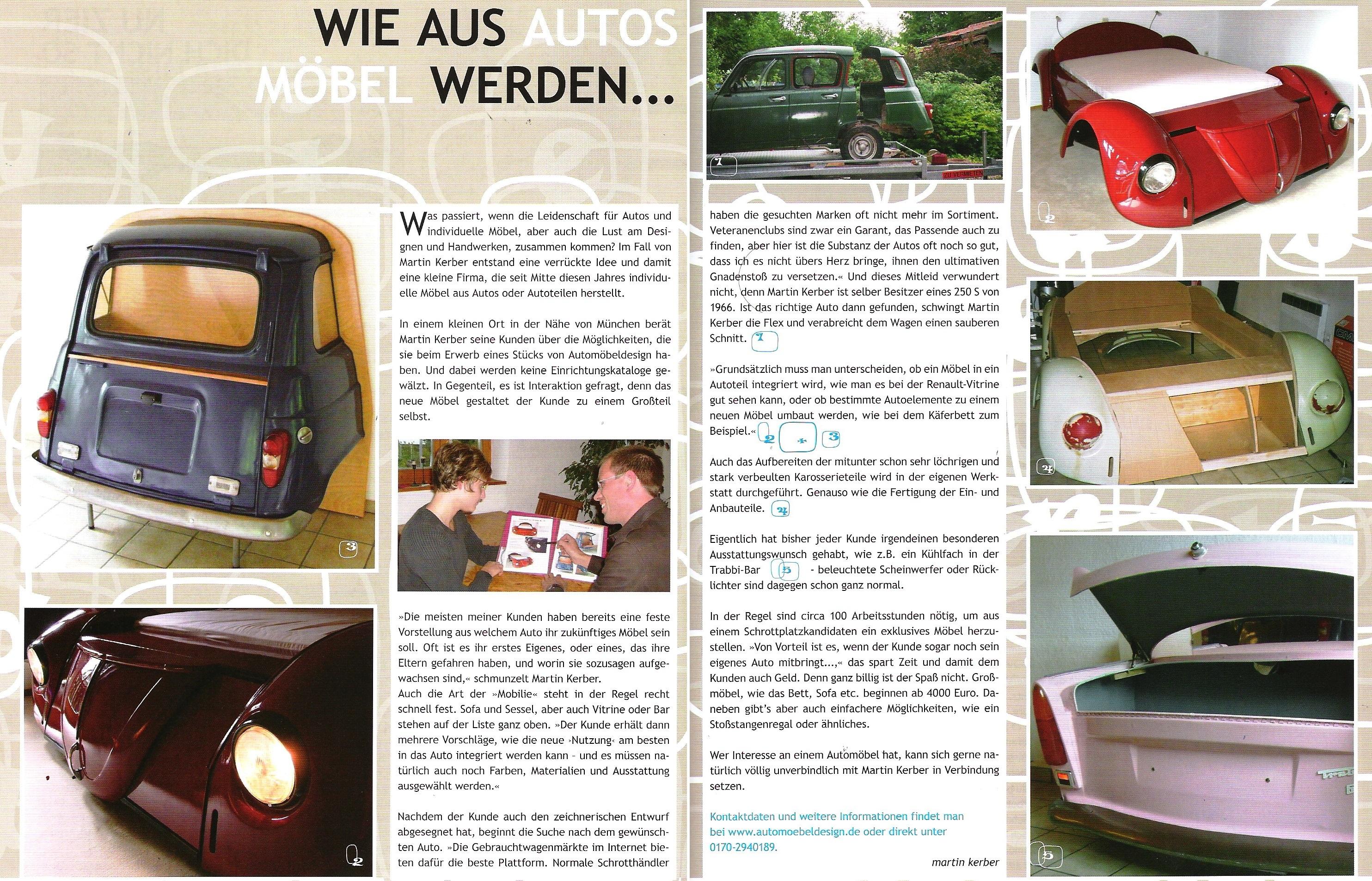 Schön Car Möbel Gebraucht Fotos - Hauptinnenideen - kakados.com